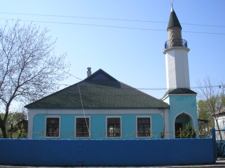 The mosque G. Shakhtersk (community
