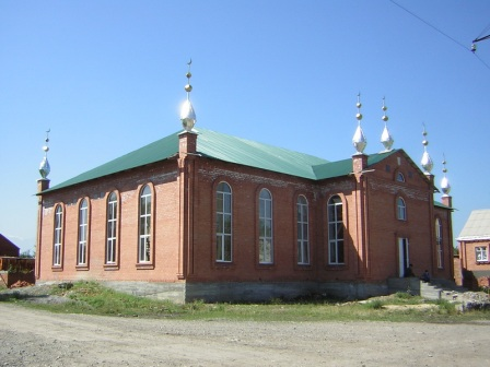 The mosque in the village Yandievo - Directory «HalalGuide»
