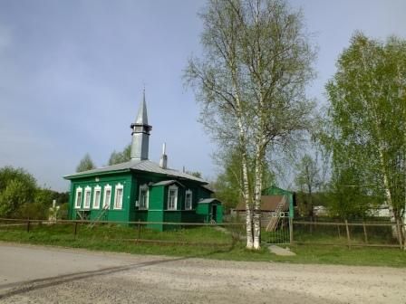 The mosque in the village Byrma - Directory «HalalGuide»