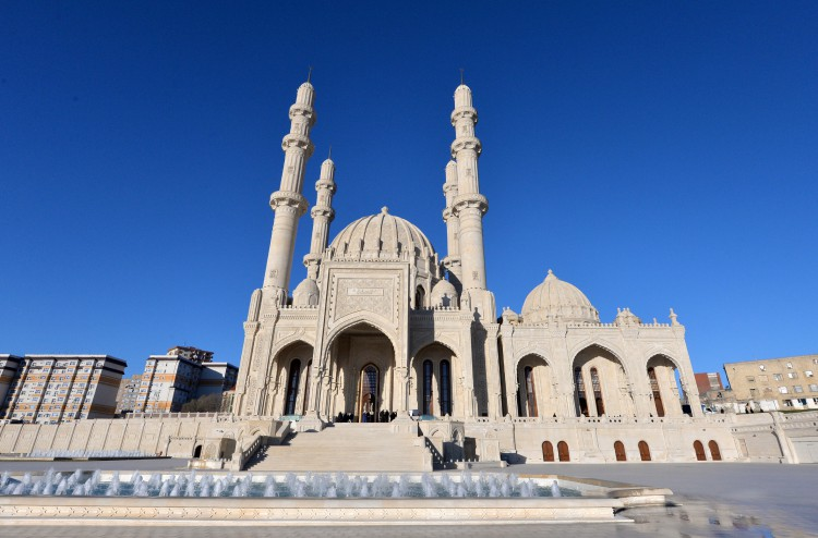 The mosque named Heydar Aliyev - Directory «HalalGuide»