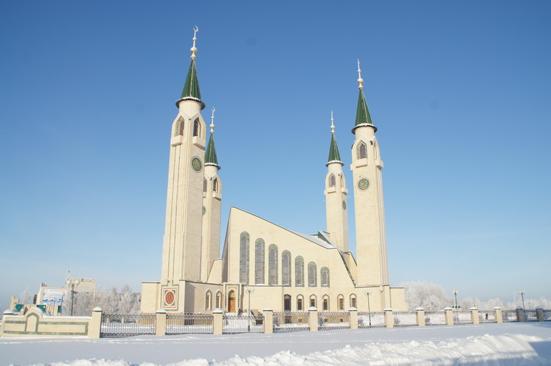 Cathedral mosque of Nizhnekamsk - Directory «HalalGuide»